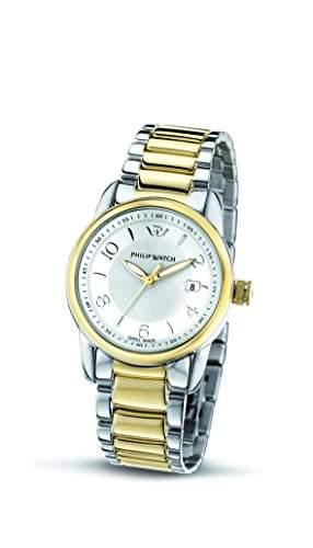 Philip Watch Damen-Armbanduhr KENT Analog Quarz Edelstahl R8253178506