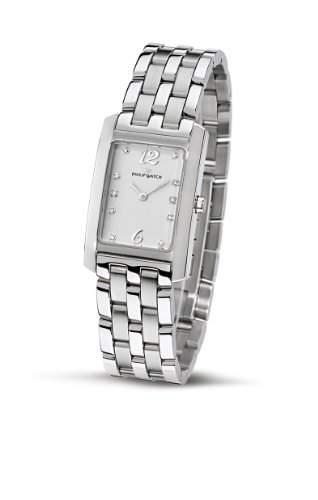 Philip Watch Damen-Armbanduhr Analog Quarz Edelstahl R8253422713