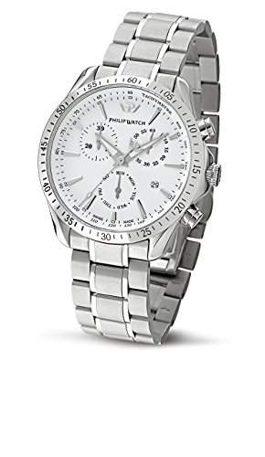 Philip Watch Herren-Armbanduhr BLAZE Analog Quarz Edelstahl R8273995215