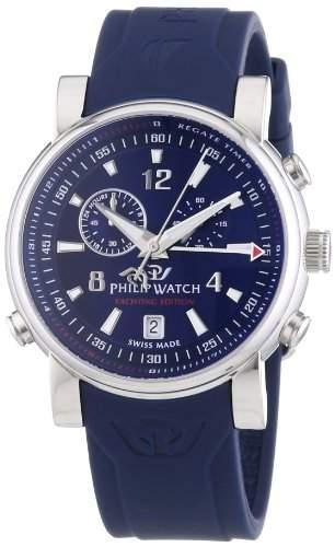 Philip Watch Herren-Armbanduhr Analog Quarz Kautschuk R8271693001
