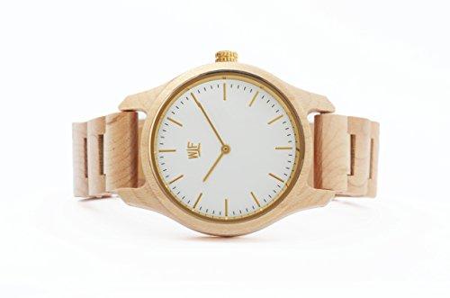 ideashop Top Marke Luxus Natur Zebra Holz Uhren Datum Kalender Quarz Japan Movt Herren hoehenverstellbar Holz Band Armbanduhr Geschenk Watch