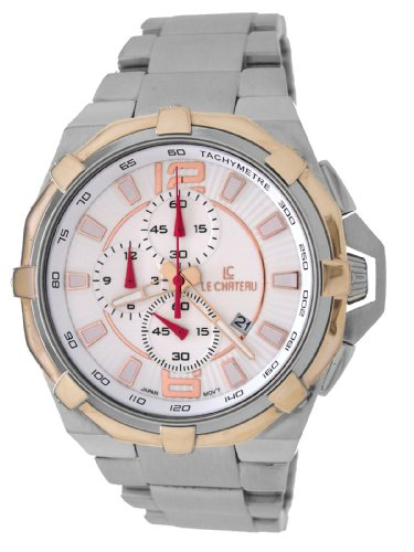 Le Chateau Herren 5707MTT WHT Sports Dinamica Chrono Uhr