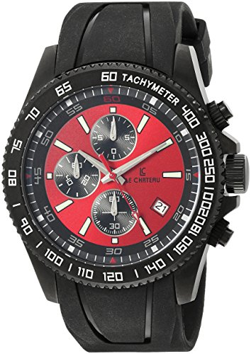 Le Chateau Herren 7080mgun red Sport Dinamica Uhr