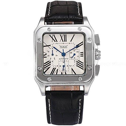 Gute Herren Automatisch Mechanisch Armbanduhr Blau Anzeige mit Datum