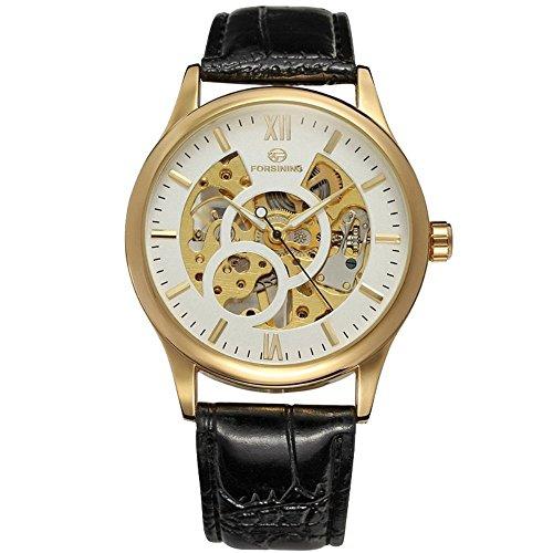 Gute Retro Skelett Herren Mechanisch Armbanduhr Handaufzugwerk