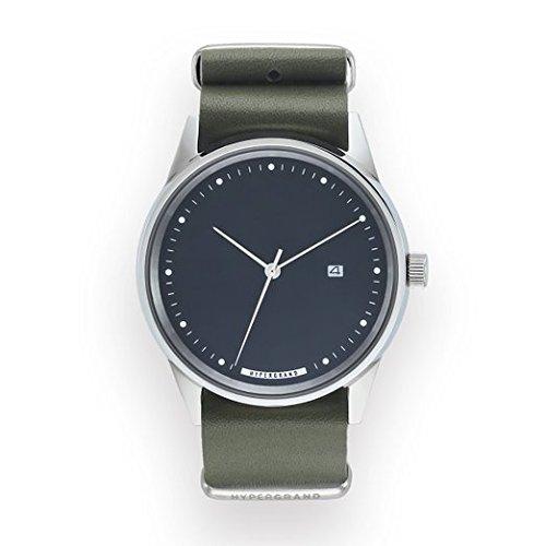 HyperGrand Maverick Oxley gruen Leder Armbanduhr
