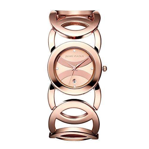 jiangyuyan frauen sehen gold tages date mit crystal zeitpl ne und unendlichkeit armband 380804