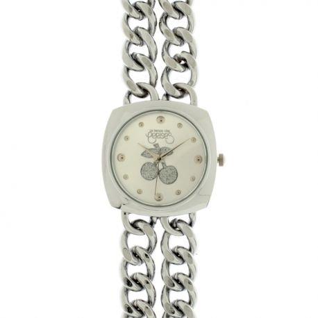 Damen Le Temps des Armbanduhr Silber tca21slm