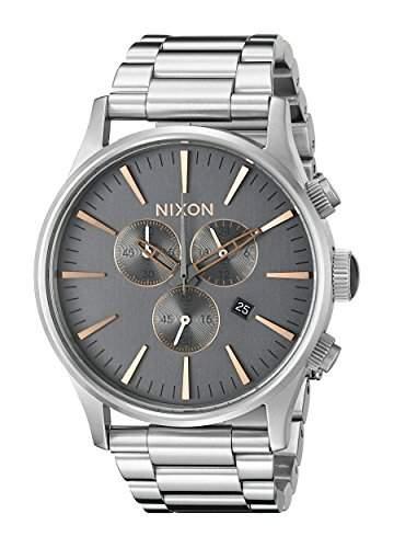 Nixon Herren Sentry Chrono Analog Sportart Quartz Reloj A3862064