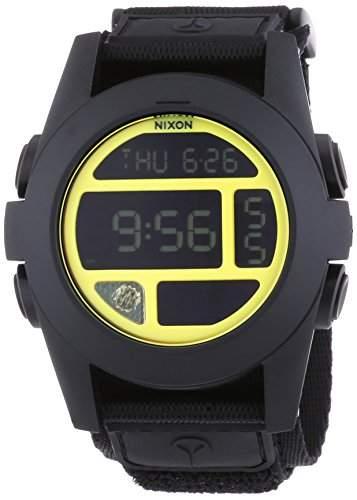 Nixon Unisex-Armbanduhr Digital Quarz Textil A489293-00