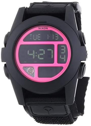 Nixon Unisex-Armbanduhr Digital Quarz Textil A489480-00