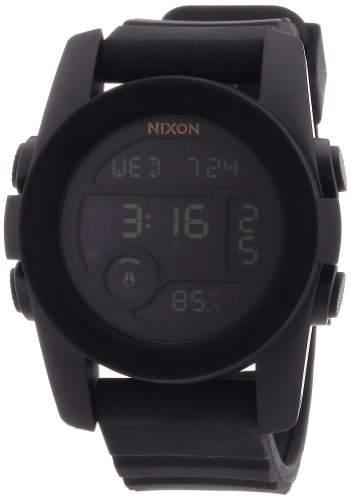 Nixon Unisex-Armbanduhr The Unit 40 Digital Quarz Silikon A490001-00