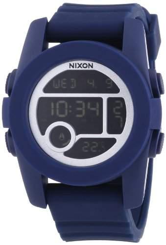 Nixon Unisex-Armbanduhr The Unit 40 Digital Quarz Silikon A490307-00