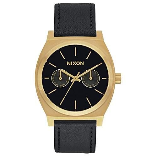 Nixon Unisex-Armbanduhr Analog Quarz Leder A9271604