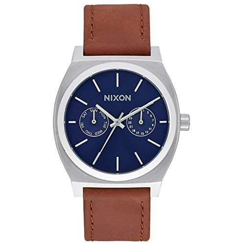 Nixon Unisex-Armbanduhr Analog Quarz Leder A9272307