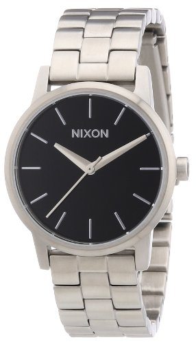 Nixon A361000 00 The Small Kensington Black Analog Quarz Edelstahl