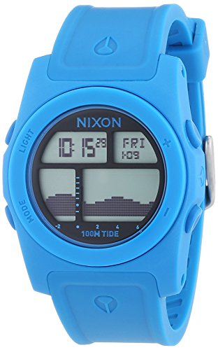 Nixon Rhythm Sky Blue Digital Quarz Plastik A385917 00