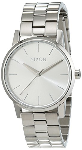 Nixon Small Kensington All Silver Analog Quarz Edelstahl A3611920 00