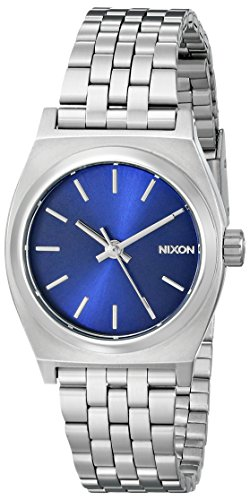 Nixon Small Time Teller Analog Quarz Edelstahl A3991933 00
