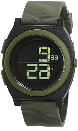 Nixon Time Teller Digi Marbled Camo Digital Quarz Silikon A4171727 00