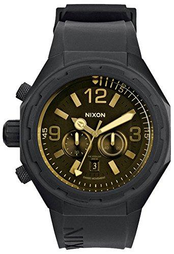 Nixon STEELCAT Chronograph Quarz Kautschuk A3131354 00