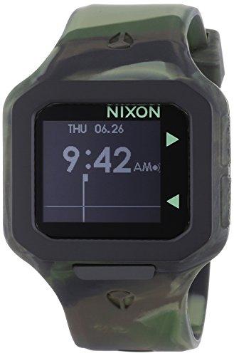 Nixon XL Digital Quarz Silikon A3161727 00