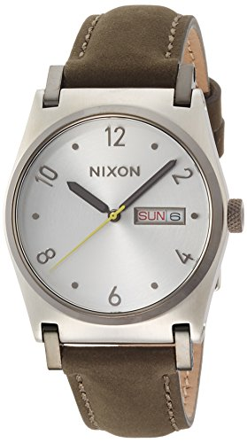 Nixon Jane Leder Silber Surplus na9552232 00