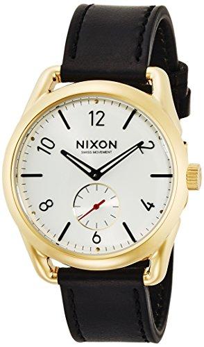 Nixon NIXON C39 Leder Gold Schwarz Weiss na4592226 00