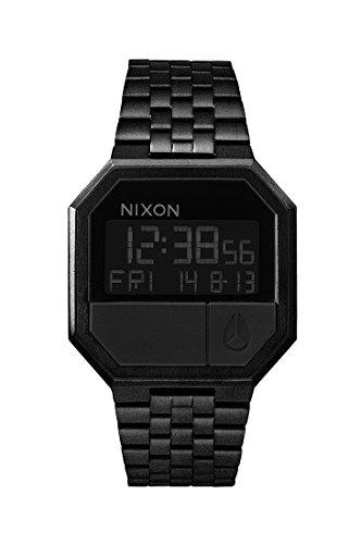 Nixon Re Run all black Uhr