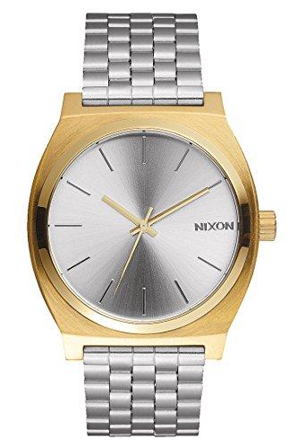 Nixon Time Teller gold silver Uhr