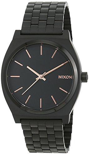 Nixon Time Teller Quarzuhr schwarz