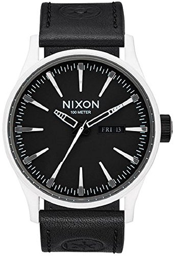 Nixon Uhr Star Wars Imperial Pilot A105SW2243 Black Leather Mann
