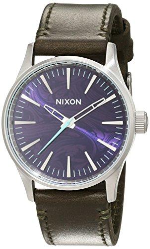 Nixon Unisex Armbanduhr Analog Quarz Leder A3772302