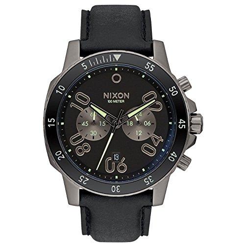 Nixon Unisex Armbanduhr Analog Quarz Leder A9402305