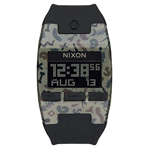 Nixon Unisex Armbanduhr Comp Digital Quarz Silikon A408 1716 00