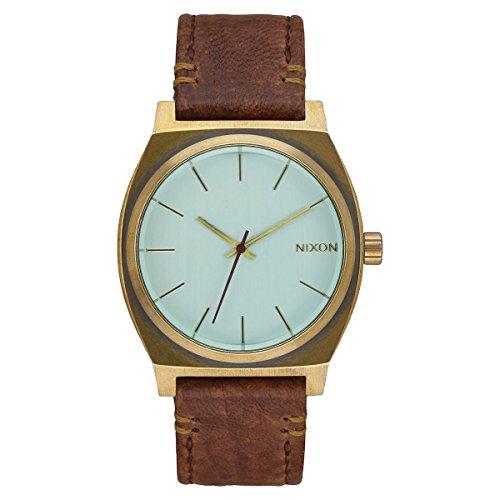 Nixon Unisex Armbanduhr Time Teller Analog Quarz Leder A045 2223 00