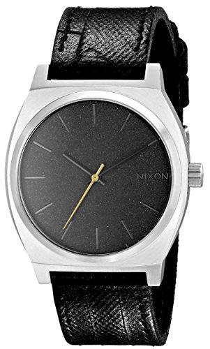 Nixon Unisex Armbanduhr Time Teller Analog Quarz Edelstahl A045 2222 00
