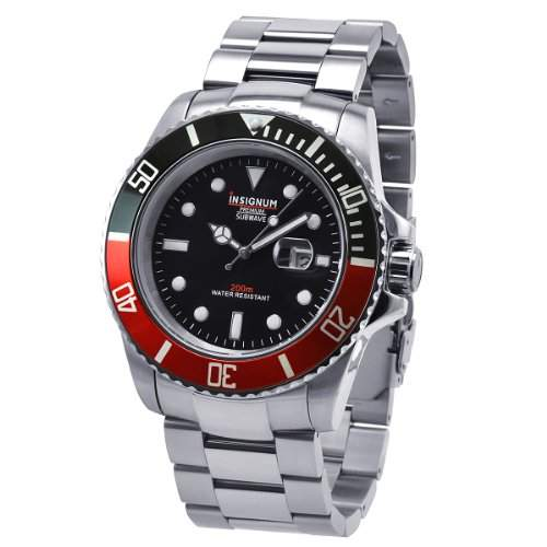 Insignum Herren-Armbanduhr XL Subwave Analog Edelstahl IP212346