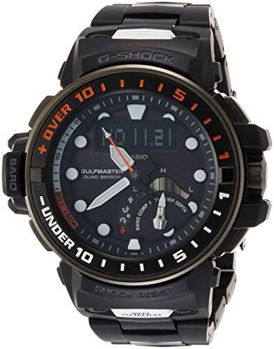 CASIO Ein Armbanduhr G SHOCK Golfmaster Radio das entsprechend 6 Welten GWN Q1000MC 1AJF Maenner Sonnen ist