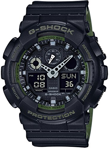 CASIO G SHOCK Layered Farbenreihe GA 100L 1AJF MENS