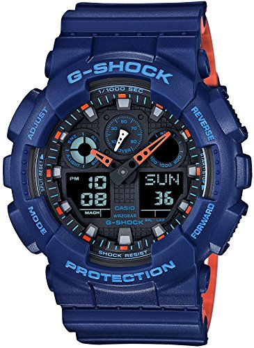 CASIO G SHOCK Layered Farbenreihe GA 100L 2AJF MENS