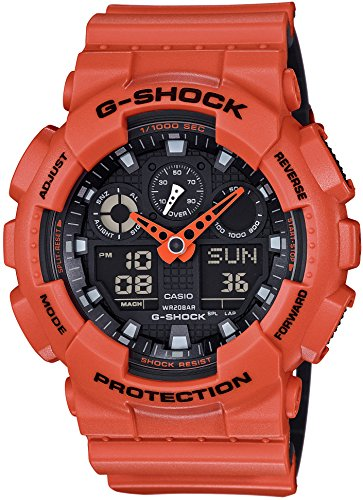 CASIO G SHOCK Layered Farbenreihe GA 100L 4AJF MENS