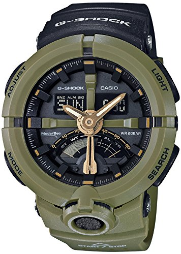 CASIO G SHOCK Punching Pattern Series GA 500P 3AJF MENS
