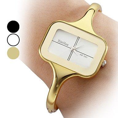 Fenkoo Frauen Legierung Analog Quarz Armband Uhr verschiedene Farben