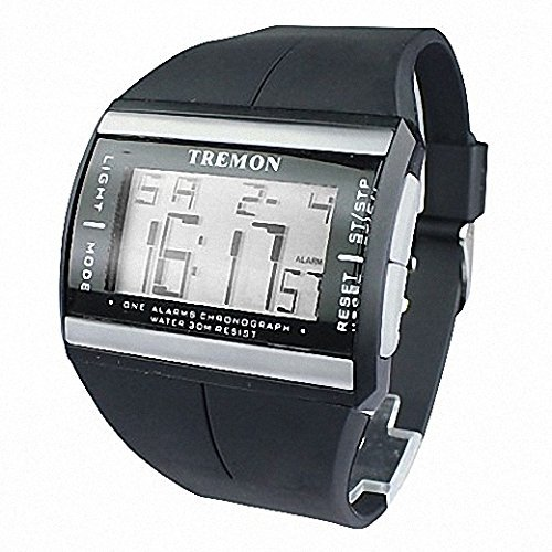 fenkoo Herren Armbanduhr Sport Multifunktions LCD Digitaler Kalender