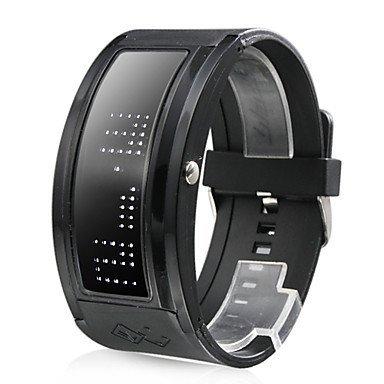 Uhr mit weisser LED Anzeige 10er Anzeigen Display
