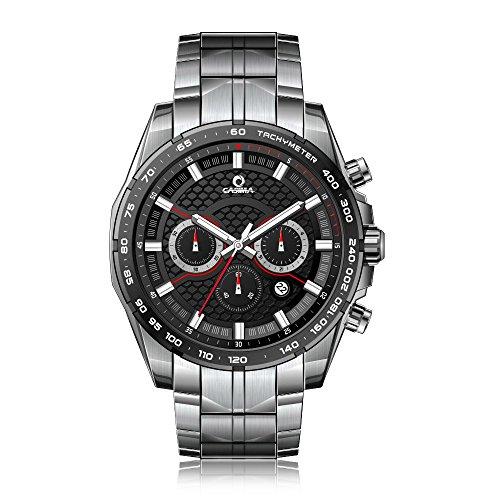 Casima Herren Automatische Solar Energy Multifunktions Wasserdicht 100 m LUMINOUS 9906 s7 Handgelenk Uhren