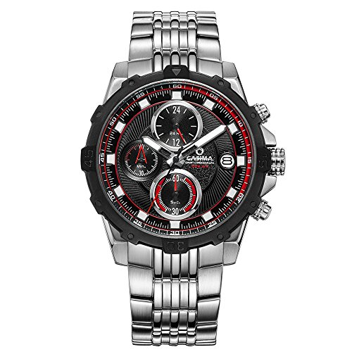 Casima Sport Quarz Edelstahl Band Wasserdicht st 8306 s71e Handgelenk Uhren
