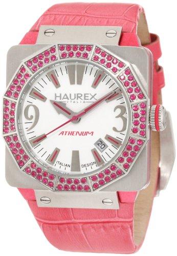 Haurex Italy Damen Armbanduhr Athenum Analog Leder 8S372DWP