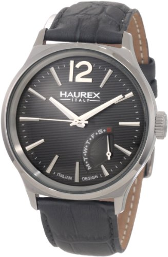 Haurex Italy Elegant Grand Class Gray Dial Watch 6J341UG1